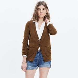 NEW Madewell Graduate Cardigan Sweater XS